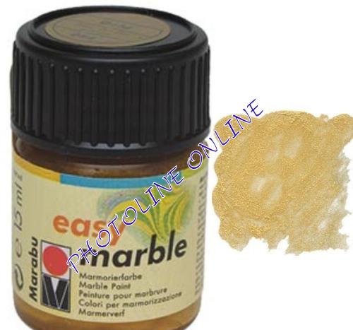 Easy Marble márványozó festék ARANY 15ml
