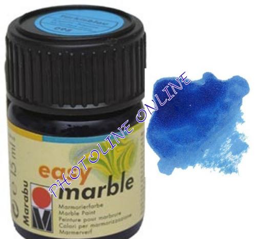 Easy Marble márványozó festék AZÚRKÉK 15ml