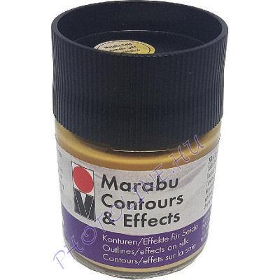 Marabu Selyemkontúr & effekt, METÁL ARANY 50ml