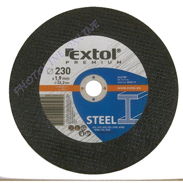Vágókorong acélhoz, kék 115×1,0×22,2mm (8808100)
