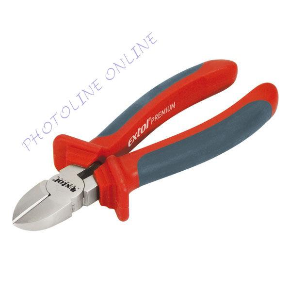 Oldalcsípő fogóduál narancs/kék, TPR nyél 160mm, TÜV/GS (8813138)