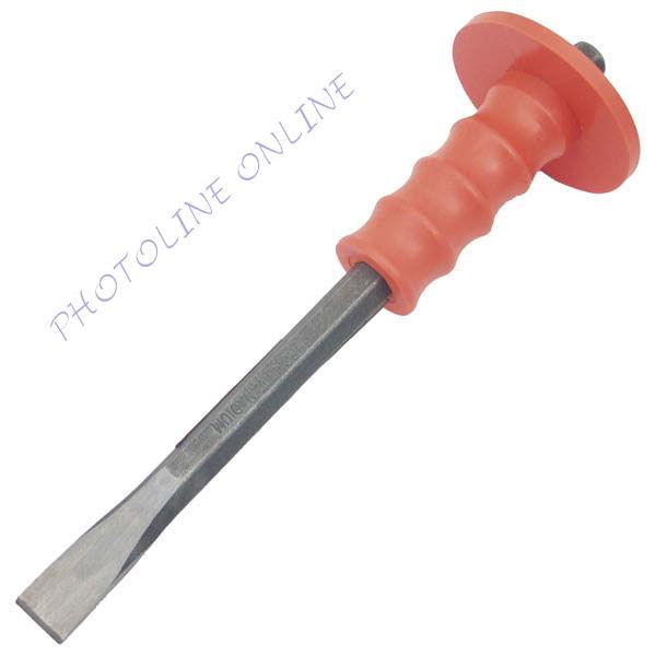 Laposvéső, CV., erős műanyag kézvédővel, 400mm, 19mm széles