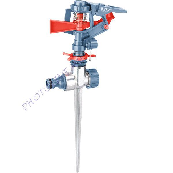 Locsoló, leszúrható pulzálós forgó, kuplung csatlakozóval