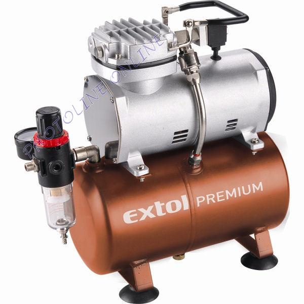Olajmentes légkompresszor CSENDES, 230V/150W (8895300)