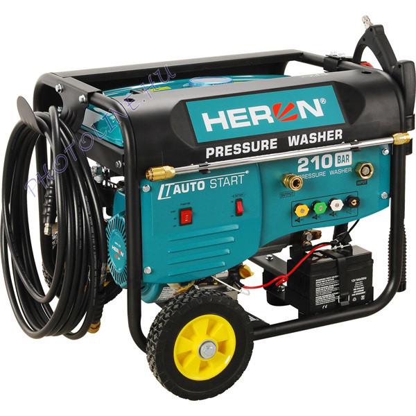 Benzinmotoros magasnyomású mosó, 6 LE, automata távindítóval, elektromos öninditóval
