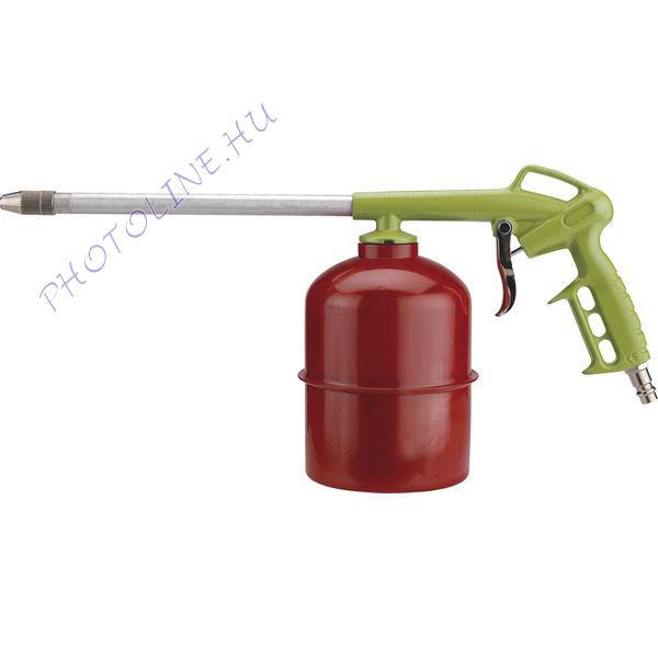 Blokk lemosó / fuvató pisztoly tartállyal, 3-5 Bar (99313)