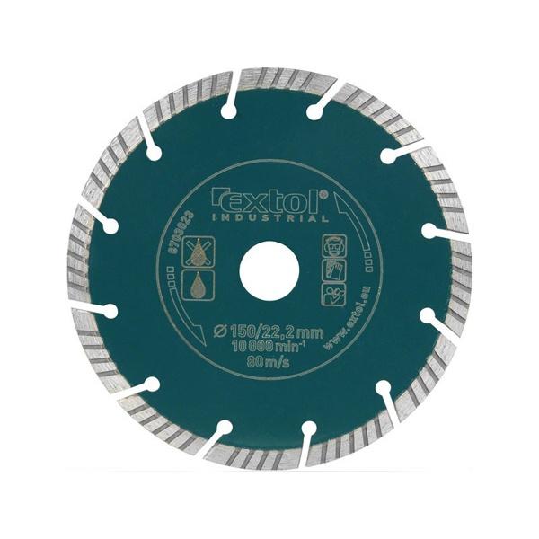 Gyémántvágó, ipari korong, szegmenses 115mm (8703021)