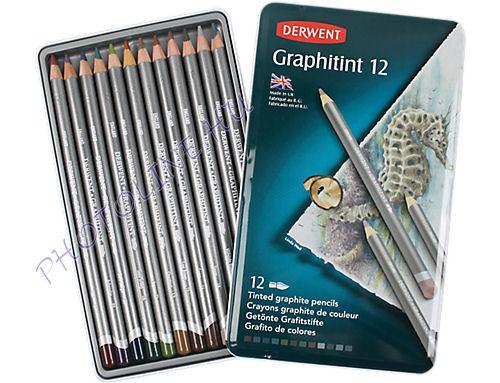 Derwent graphitint ceruzák 12 szín