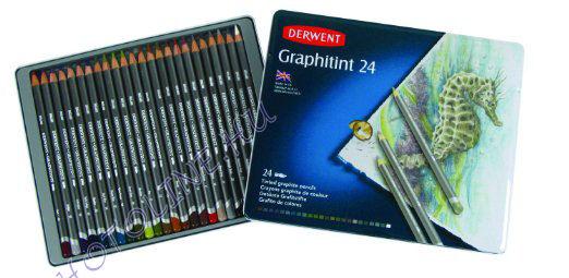 Derwent graphitint ceruzák 24 szín