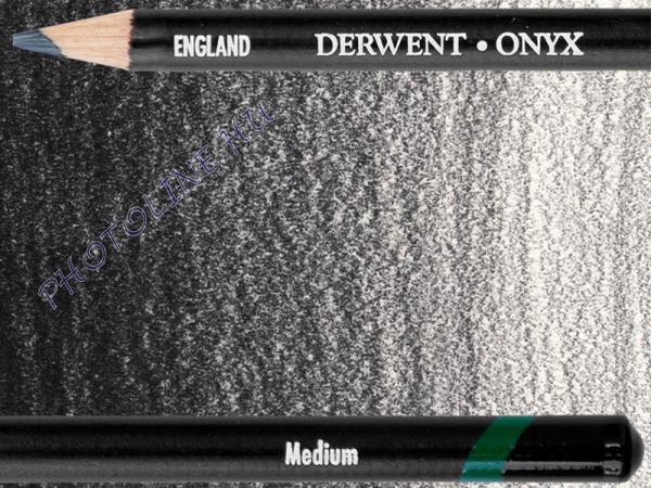 Derwent onyx grafit ceruza medium (közepesen sötét)