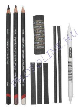 Derwent rajzszén ceruza vegyes készlet, 10 db