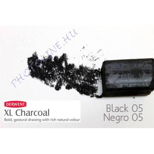 Derwent XL préselt széntömb, fekete