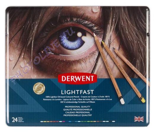 Derwent Lightfast 24 db-os művészceruza/készlet