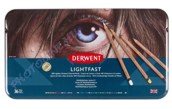 Derwent Lightfast 36 db-os művészceruza/készlet