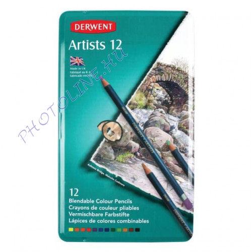 Derwent művész színes ceruza, 12 szín