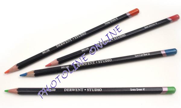 Derwent studio ceruza 10 orange chrome