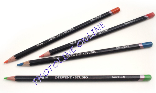 Derwent studio ceruza 12 scarlet lake