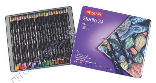 Derwent studio színes ceruza 24 szín