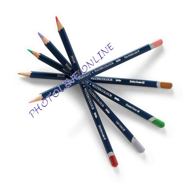 Derwent akvarell ceruza deep vemilion