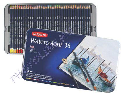 Derwent akvarell ceruzák, 36 szín
