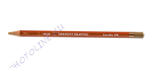 Derwent Drawing rajzceruza 5700 brown ochre