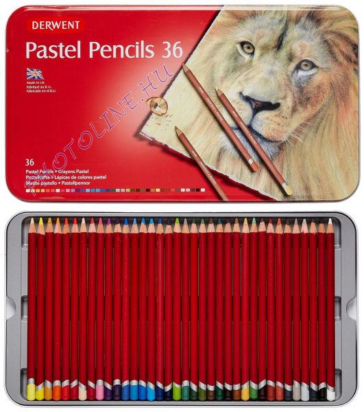Derwent pasztell ceruzák, 36 szín