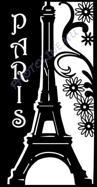 Sablon, romatikus Párizs A4