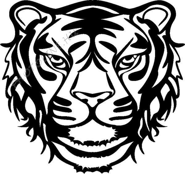 Sablon, tigris 30*30 cm