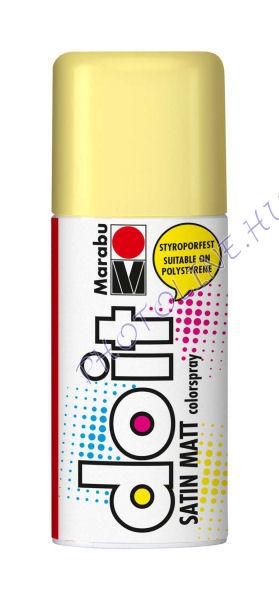 Akrilspray Marabu festék spray 150ml pasztell sárga