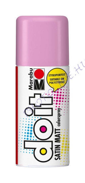 Akrilspray Marabu festék spray 150ml pasztell pink
