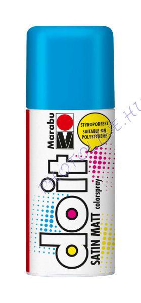 Akrilspray Marabu festék spray 150ml azúrkék