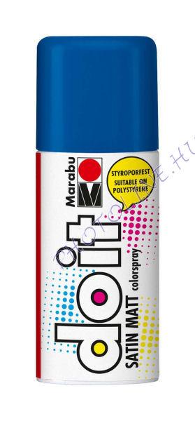 Akrilspray Marabu festék spray 150ml középkék