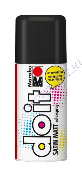Akrilspray Marabu festék spray 150ml fekete