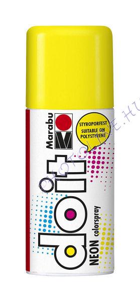 Akrilspray Marabu festék spray 150ml neon sárga