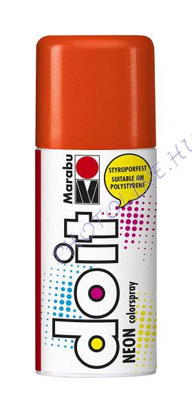 Akrilspray Marabu festék spray 150ml neon narancs