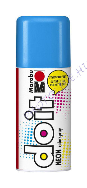 Akrilspray Marabu festék spray 150ml neon kék