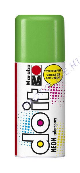 Akrilspray Marabu festék spray 150ml neon zöld