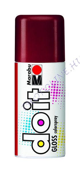 Akrilspray Marabu festék spray 150ml fényes piros