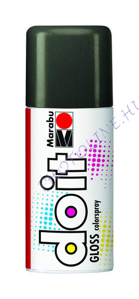 Akrilspray Marabu festék spray 150ml fényes szürke