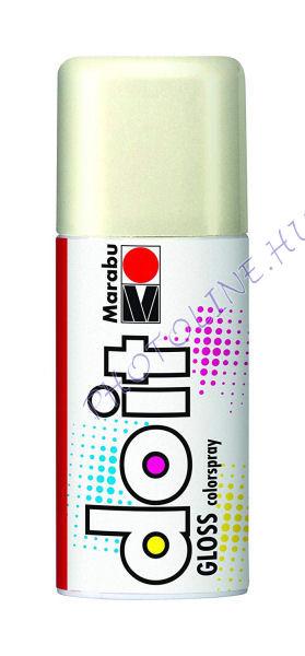 Akrilspray Marabu festék spray 150ml fényes fehér