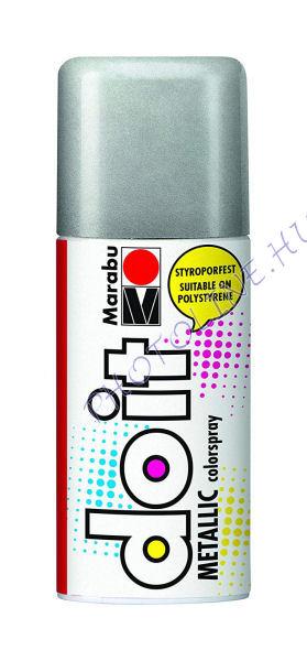 Akrilspray Marabu festék spray 150ml metál ezüst