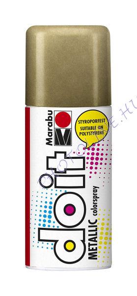 Akrilspray Marabu festék spray 150ml metál arany
