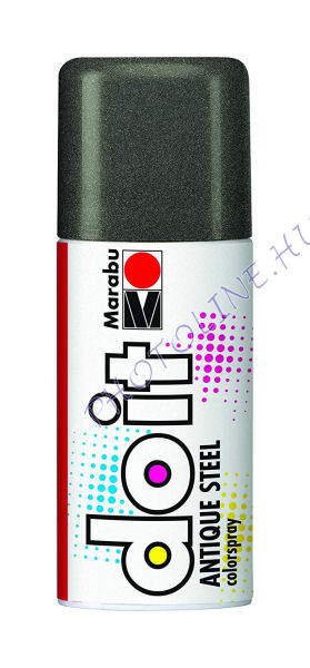 Akrilspray Marabu festék spray 150ml antik grafit