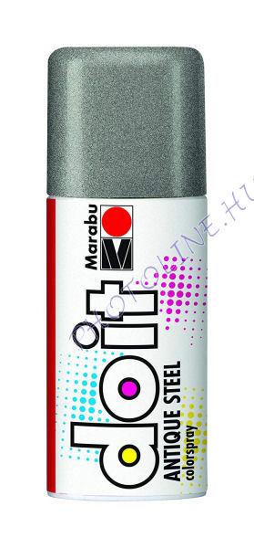Akrilspray Marabu festék spray 150ml antik ezüst
