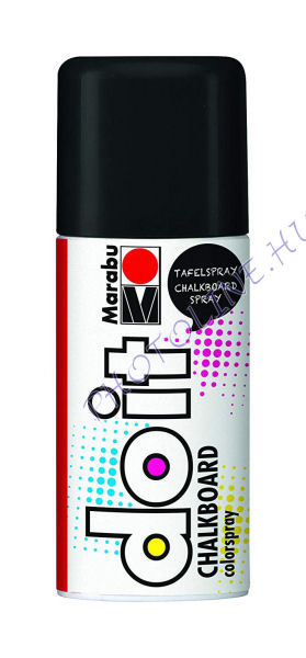 Marabu Táblafesték spray 150ml fekete