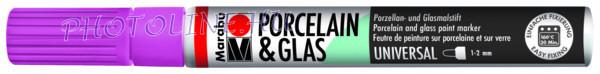 Porcelán & Üveg filctoll MÁLNA 1-2mm