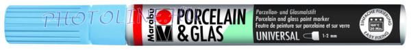 Porcelán & Üveg filctoll ÉGKÉK 1-2mm