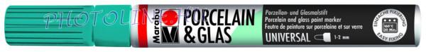 Porcelán & Üveg filctoll PETROL 1-2mm