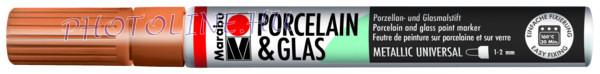 Porcelán & Üveg filctoll RÉZ 1-2mm