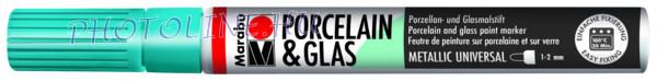 Porcelán & Üveg filctoll METÁL PETROL 1-2mm